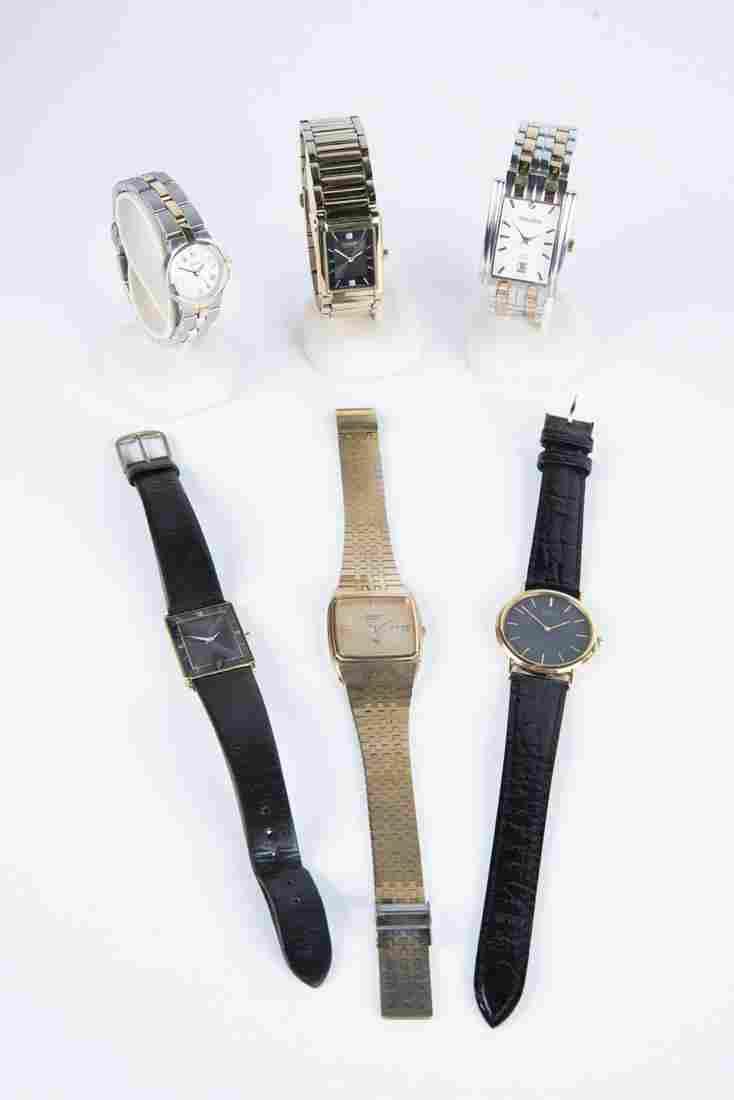 6 Wrist Watches