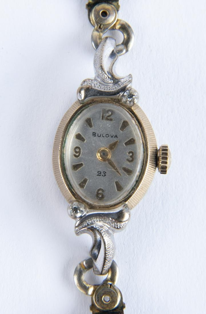 Bulova Diamond Ladies Wristwatch