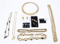 10 Pcs Costume Jewelry incl Monet and Anne Klein