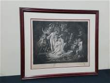 Midsummer Night Dream Shakespeare Print