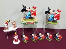 10 Pcs Disney Figures and Ornaments
