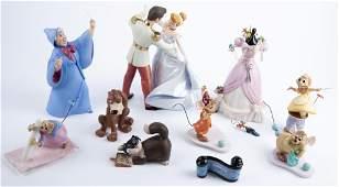 10 Walt Disney Classics Coll. Cinderella Figurines