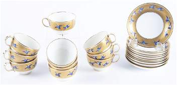 Mintons Davis Collamore Tea Cups & Saucers Set