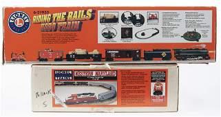 2 Lionel O Gauge Train Sets in OBs