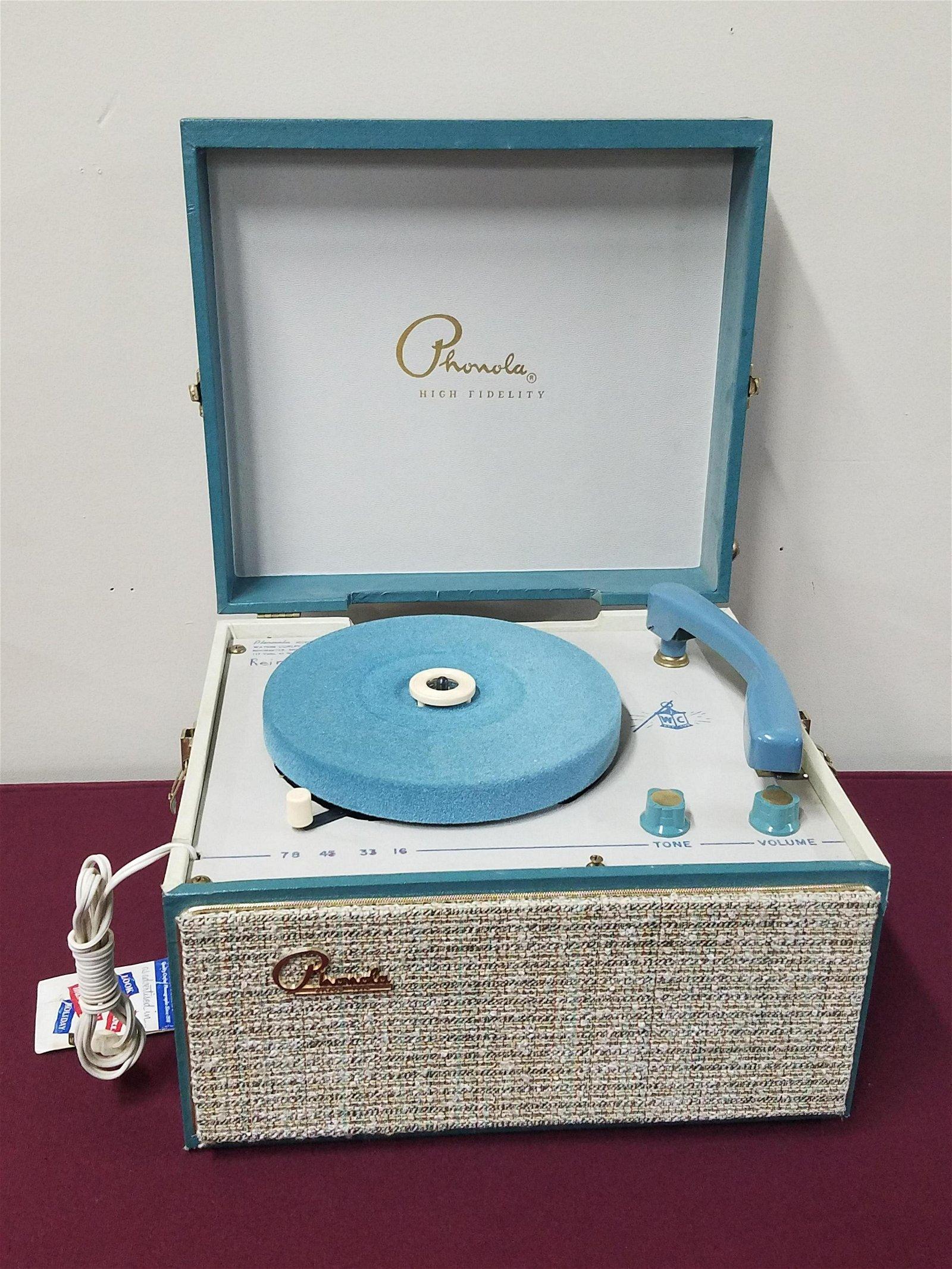 Phonola Record Player