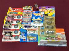 23 Vintage Toy Cars incl. Hot Wheels Red Line
