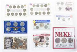 Large Lot Misc Items incl Kennedy Halves