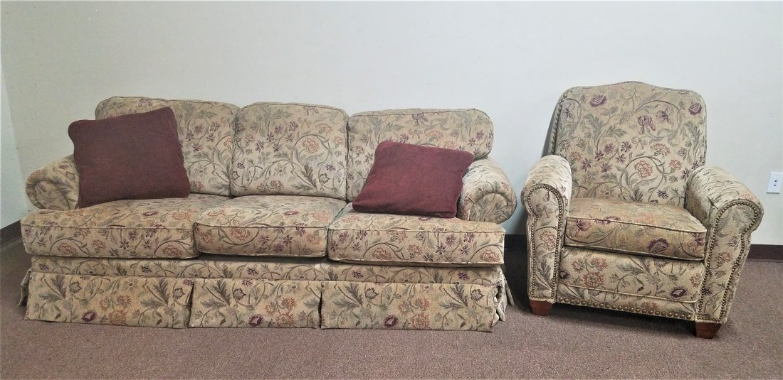 LazBoy Sofa and Recliner Chair