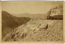 505: 7 William Henry Jackson Cabinet Cards of Colorado