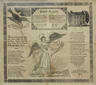 1818 Pennsylvania German House Blessing