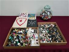 Large Button Collection incl. Mother of Pearl