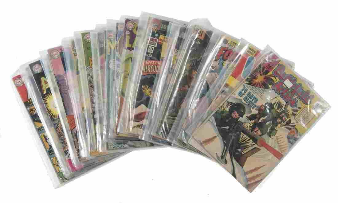 24 Comic Books Incl DC And Marvel