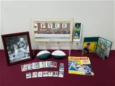 63 Pcs Sport Ephemera incl Babe Ruth Score Keeper