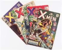 4 Marvel Comics Silver Age XMen
