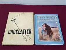 1942 Choclatier and Love Songs Old and New