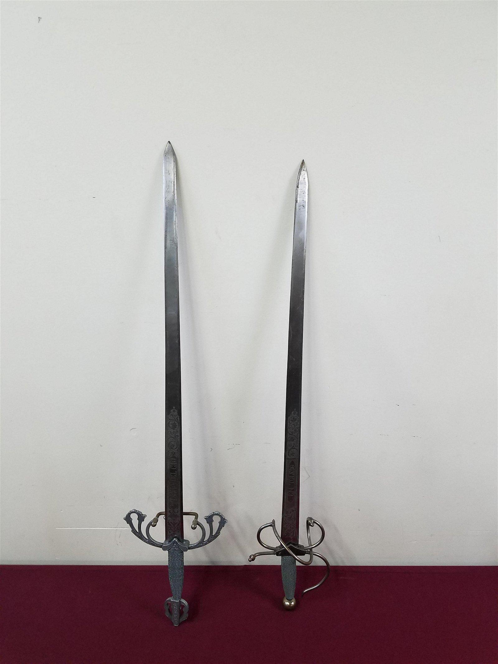 2 Colada Tizona Replica Swords
