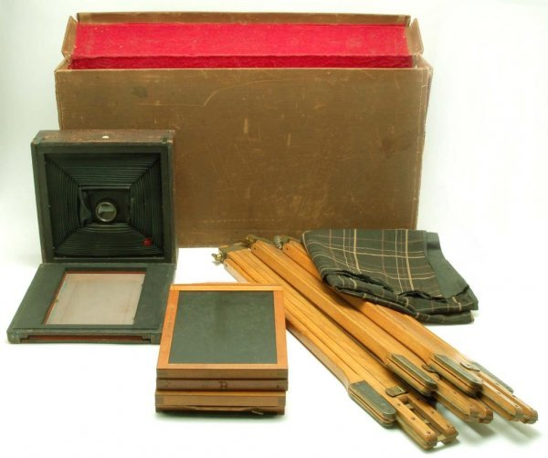 565: Rochester King Poco Folding Plate Camera