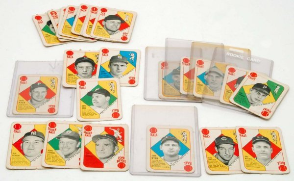 568: 23 1951 Topps Red Back Baseball Cards