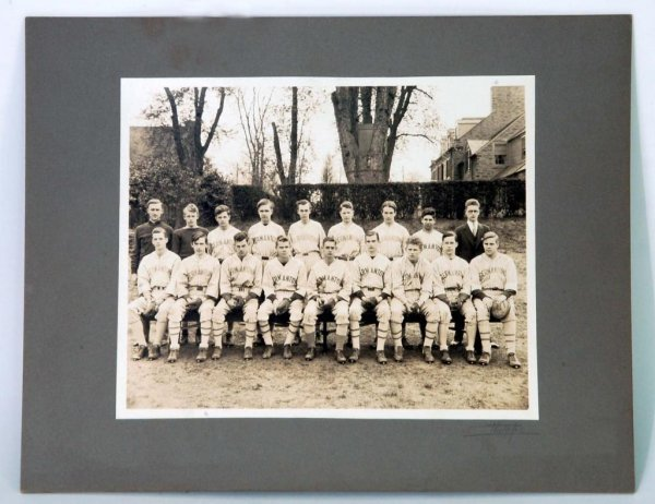 579: Signed Germantown Baseball Team Photograph