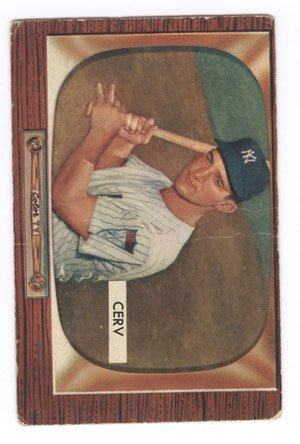 582: 20 1950's Bowman Fleer Red Man Baseball Cards - 5