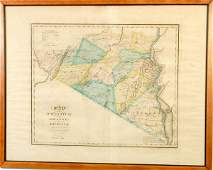 595 1839 D Burr Map Orange  Rockland Counties NY