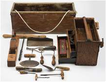 15 Antique Tools and Tool Boxes