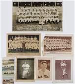 Group of Vintage Baseball Ephemera incl Post Cards