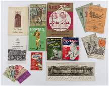 10 Football Related Items incl Local Programs