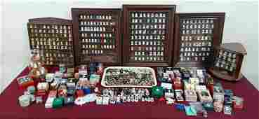 Approx 700 Pc Thimbles Collection