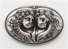 Henryk Winograd 999 Silver Pendant Brooch