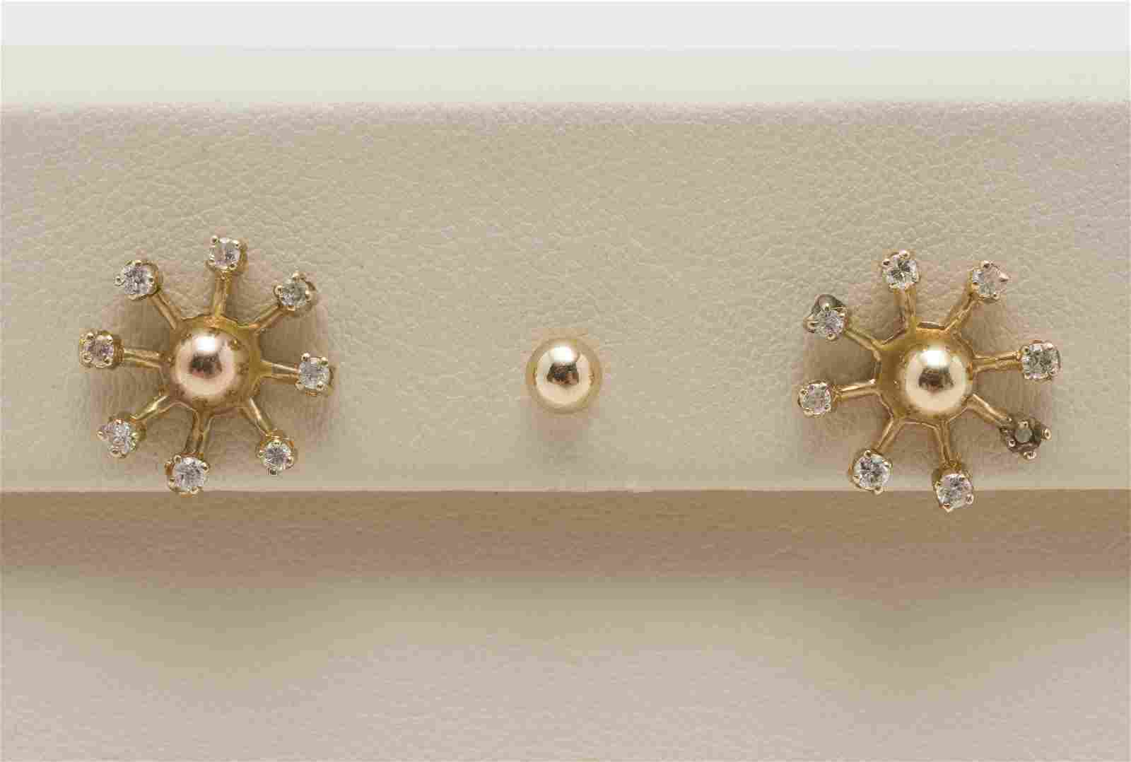 5 Pcs 14k and Diamond Jewelry