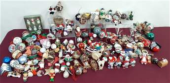 Large Country Christmas Ornament Collection