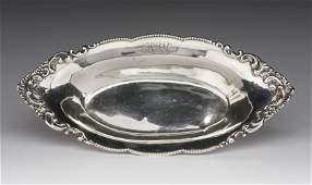 Merrill Sterling Small Oval Dish