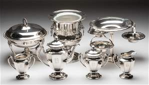4 Silver Plate Items