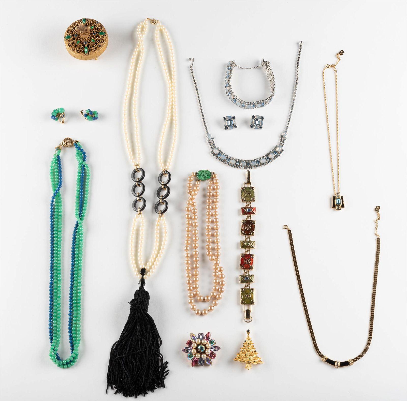 9 Pcs Costume Jewelry