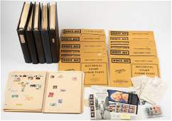 Three Albums of Topical Stamp Collections