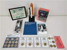 Lot of Nasa/Apollo items
