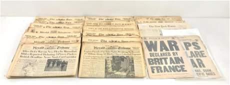 30 New York Newspapers 19351944