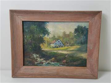 Ira Deen Cottage Painting