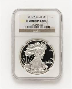 US Silver Eagle NGC Graded