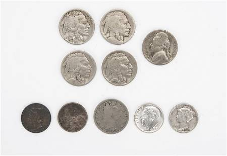 10 US Coins