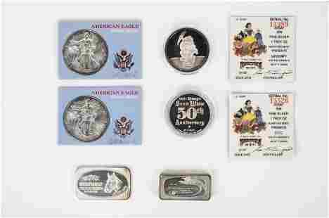 6 Silver Coins