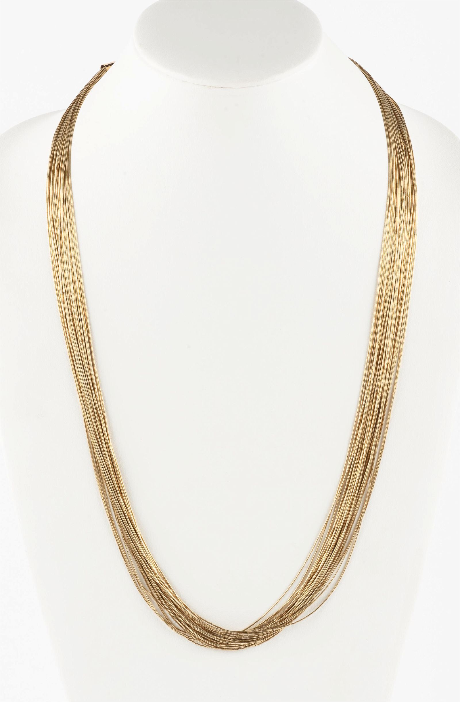 Liquid Sterling Vermeil Necklace