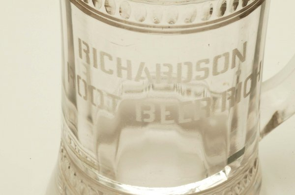 29: 3 Glass Root Beer Mugs Richardson Rochester - 4