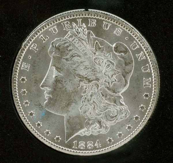 279: 1884-CC Carson City GSA Morgan Silver Dollar
