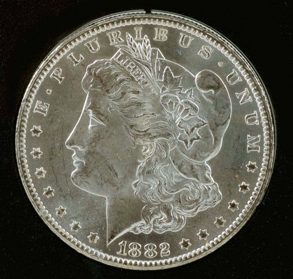 282: 1882-CC Carson City GSA Morgan Silver Dollar UNC