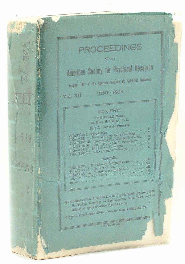 303: 1916 Smead Case on Martian Life Editor's Copy