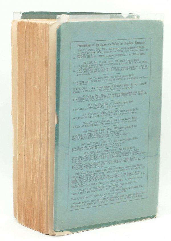 303: 1916 Smead Case on Martian Life Editor's Copy - 2