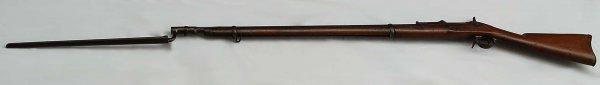310: Civil War M1863 Springfield Rifle With Bayonet - 2