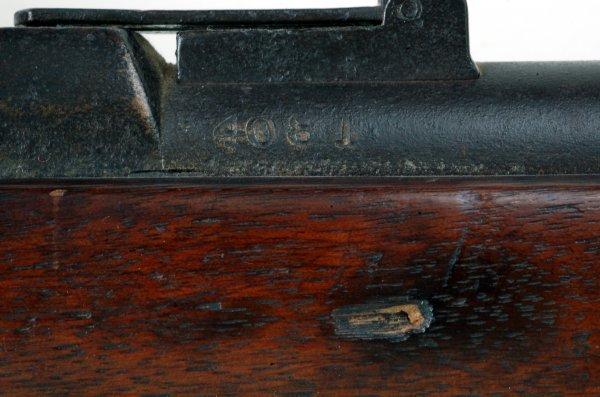 310: Civil War M1863 Springfield Rifle With Bayonet - 5